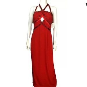 Evening Pageant Gown Dress Prom Sequin party $381